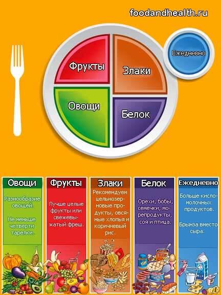 Здоровая тарелка