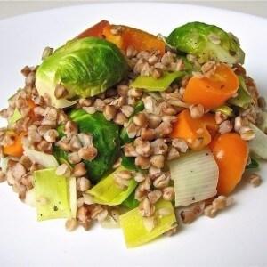 Облегченная гречневая диета на 7 дней с добавлением овощей