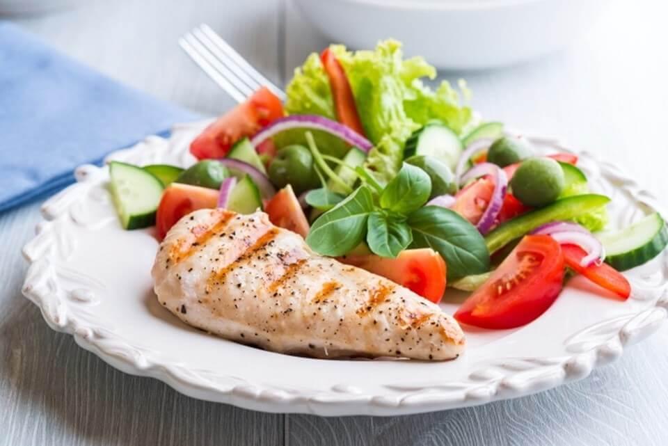 Белковая диета 4 недели меню