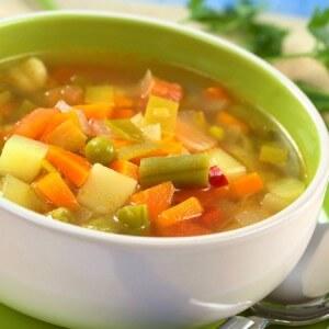 Боннский суп – основа овощной диеты
