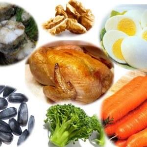 Продукты, содержащие пиридоксин