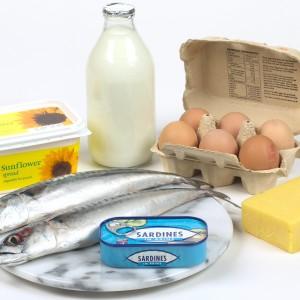 Продукты-источники витамина D