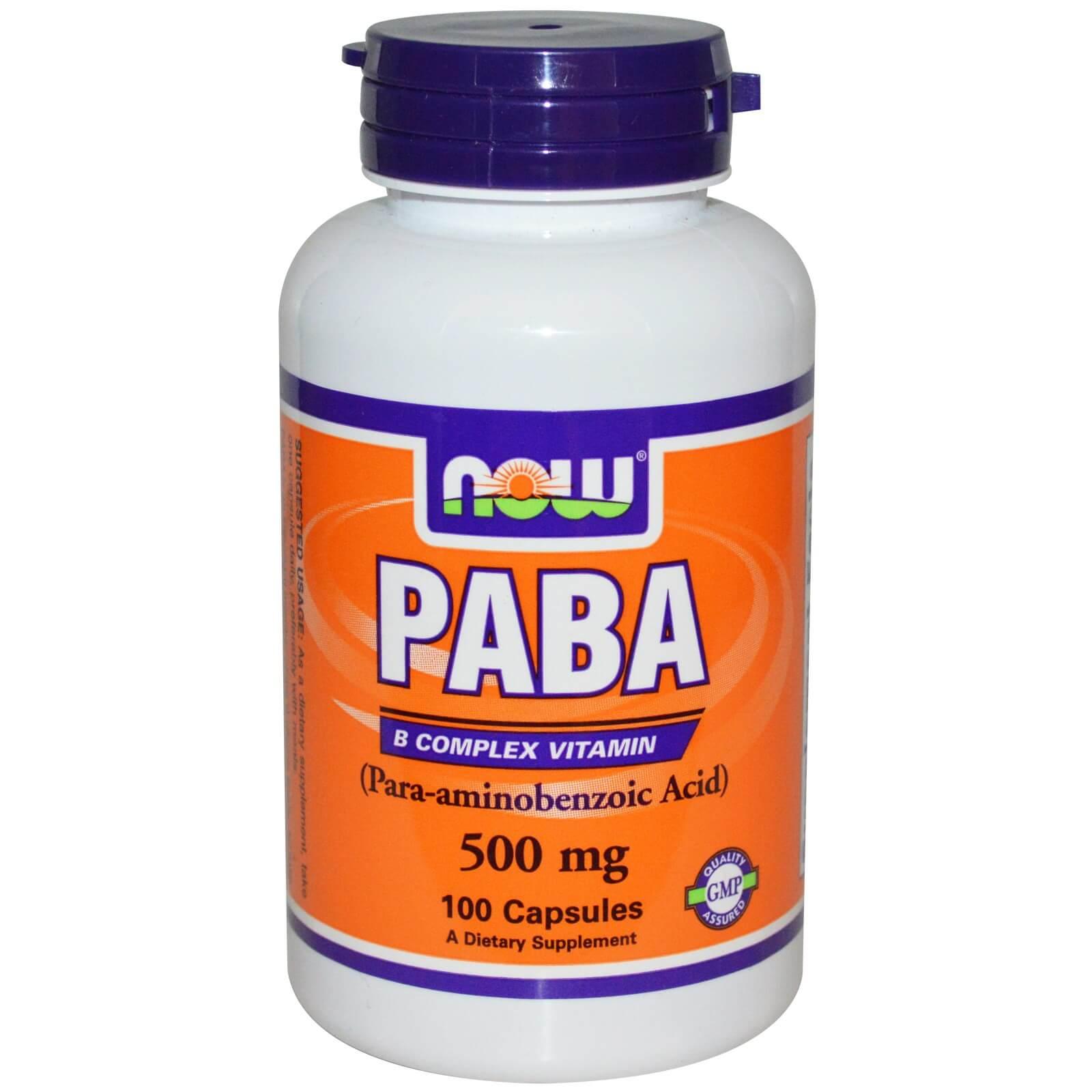 Кислота Парааминобензойная