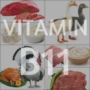 Пищевые источники витамина B11