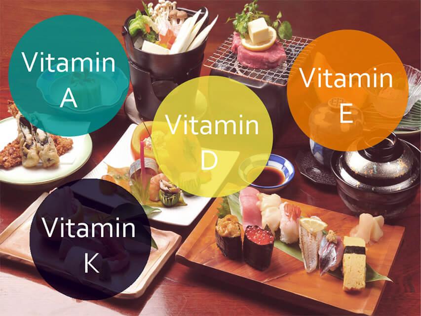 Источники жирорастворимых витаминов