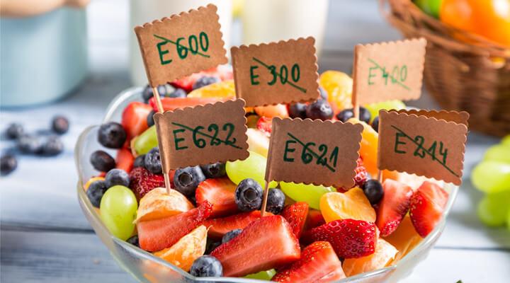 Каталог пищевых добавок