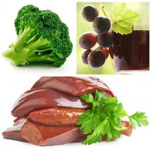 Продукты питания богатые хромом