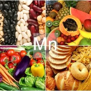 Продукты питания богатые марганцем