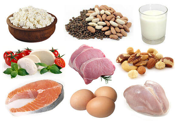 Глутамин во продуктах