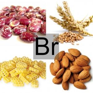Продукты питания богатые бромом
