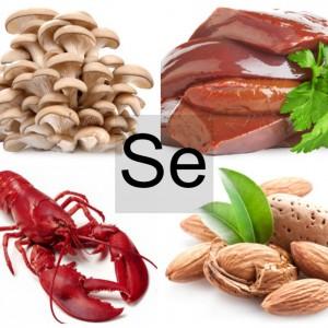 Продукты питания богатые селеном