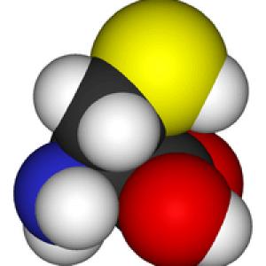 Синтезирование цистеина