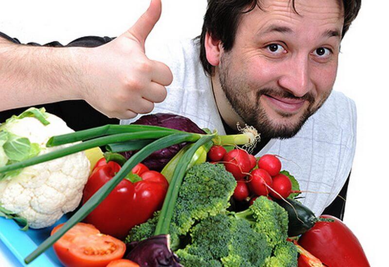 Пища для поддержания здоровья мужчин