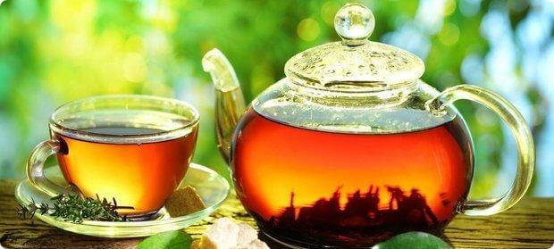 Танин в чае