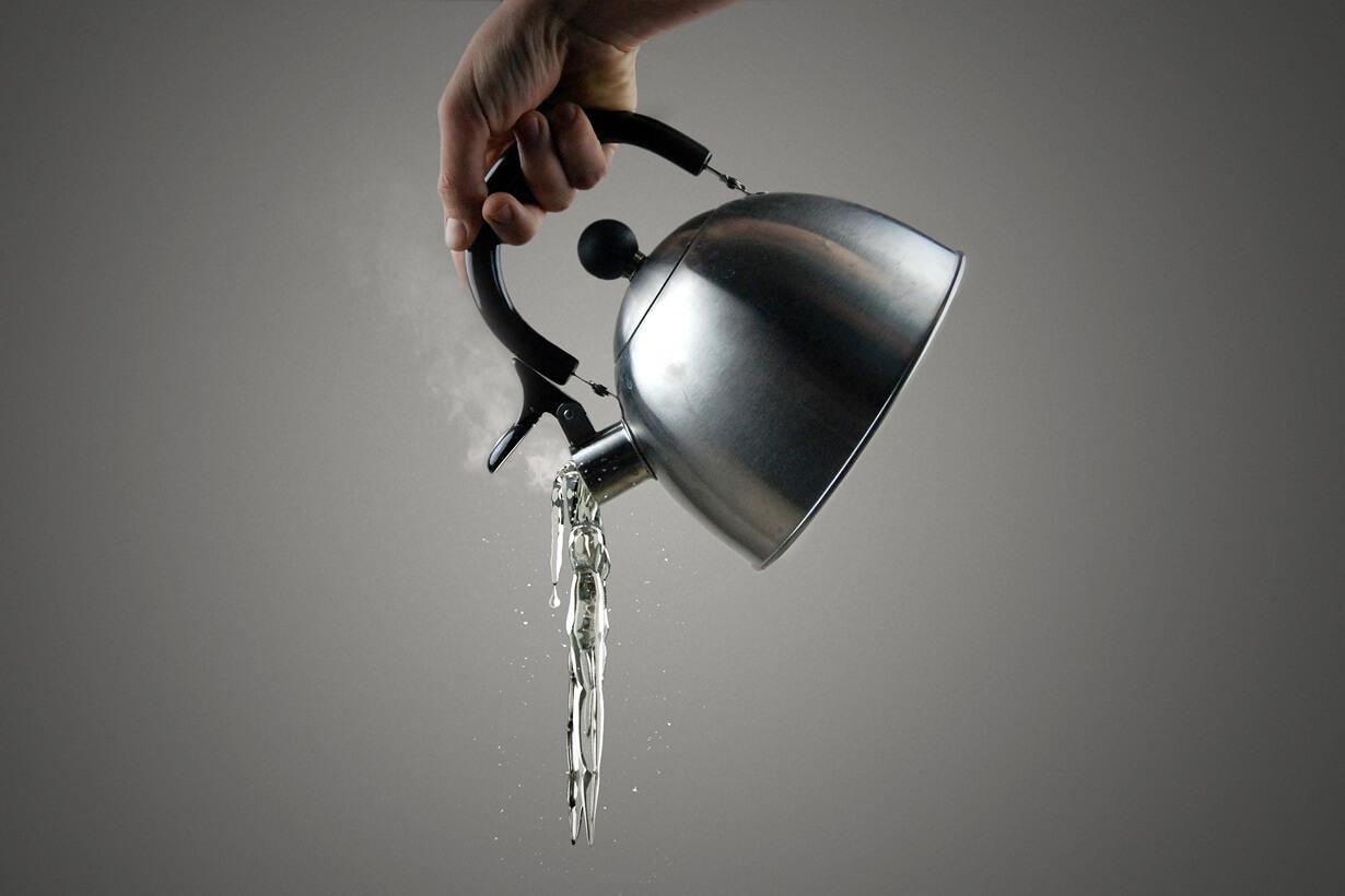 Горячая жидкость убивает пробиотики