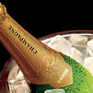 Как охладить шампанское