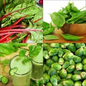 Пищевые источники хлорофилла