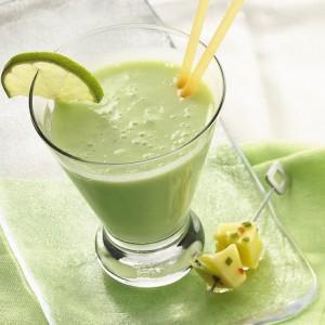 Рецепты зеленых коктейлей