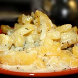 Вред картофеля со сметаной