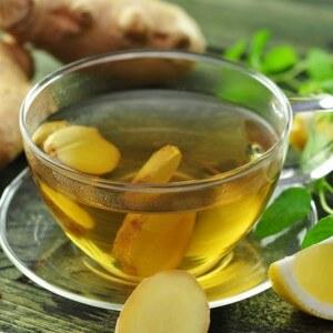 Имбирный чай против тошноты