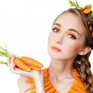 Морковь в косметологии