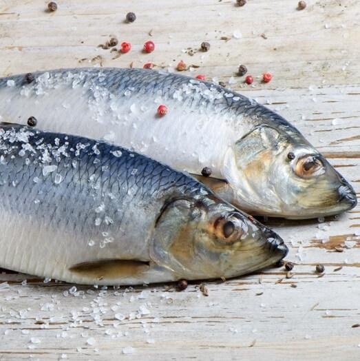 Селедка: калорийность на 100 грамм — 217 ККал. Белки, жиры, углеводы, химический состав.
