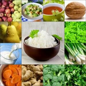 Рацион питания при рисовой диете