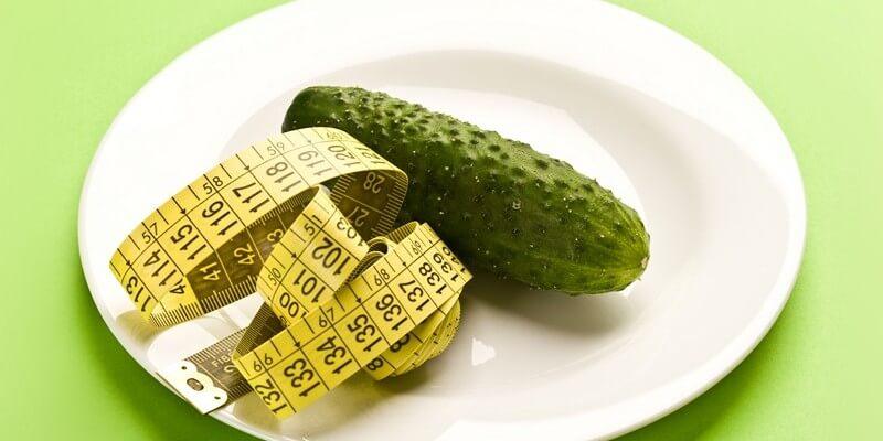 Огуречная диета на 7 дней