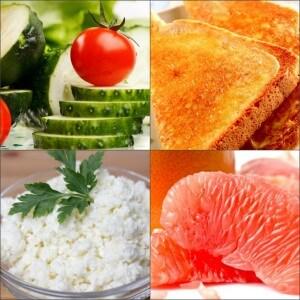 Рацион на четвертую неделю яичной диеты