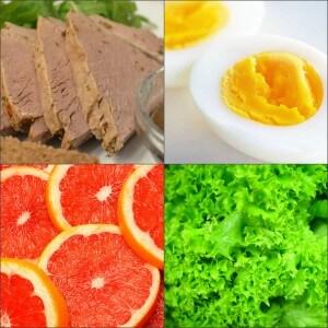 Рацион яичной диеты