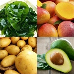 Витаминные продукты для набора веса