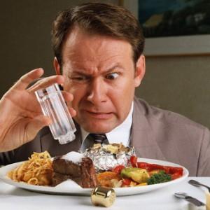 Как не пересаливать пищу
