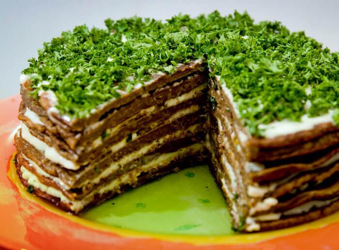 печеночный торт с куриной печенью рецепт с фото 600грамм
