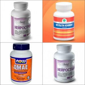 Витаминные препараты для мозга