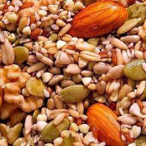 Орехи и злаки
