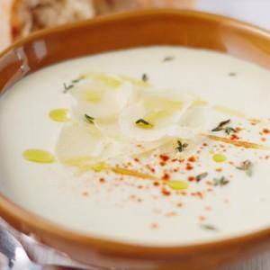 Острый суп из пастернака