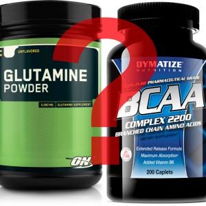 Глютамин или BCAA