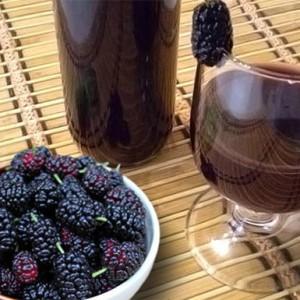 Настойка из ягод шелковицы