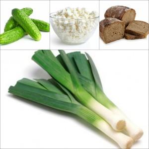 Некоторые компоненты луковой диеты