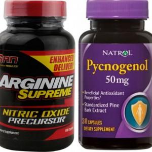 Пампинг - аргинин и пикногенол