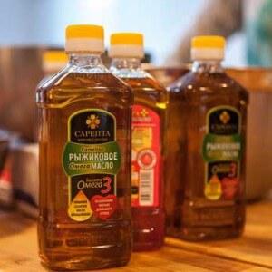 Виды рыжикового масла