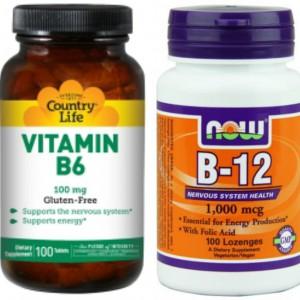 Витамины B6, B12