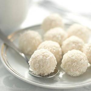 Десерт Снежки