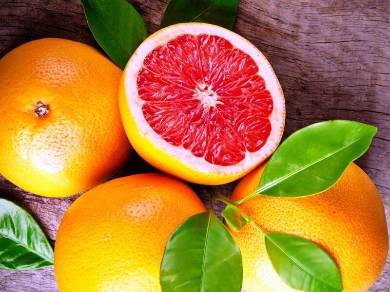Грейпфрут это смесь каких фруктов