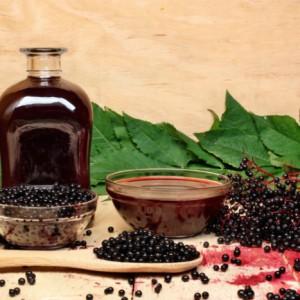 Настойка из плодов черной бузины