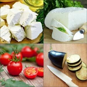 Сочетание маслин с продуктами