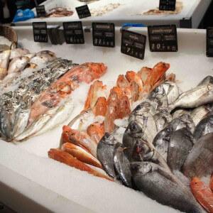 Выбор замороженной рыбы