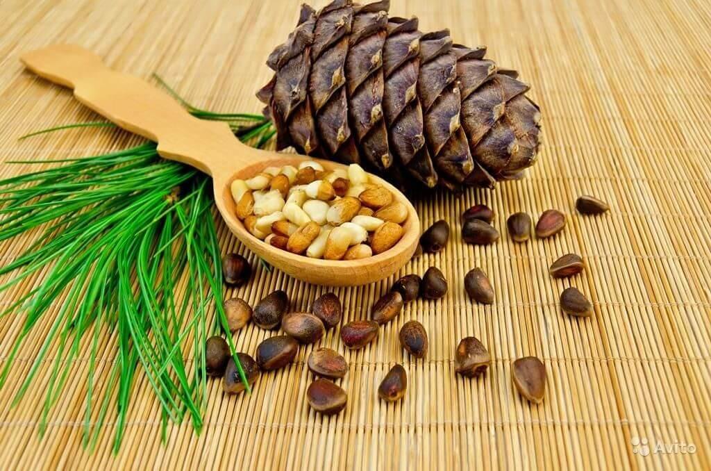 Жиры в кедровых орехах
