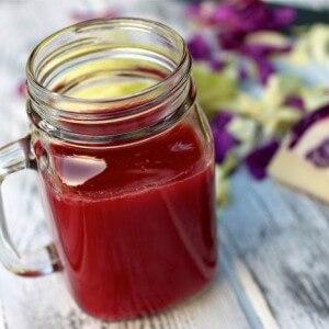 Сок красной капусты