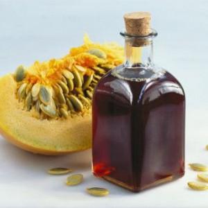 Тыквенный маслянистый продукт